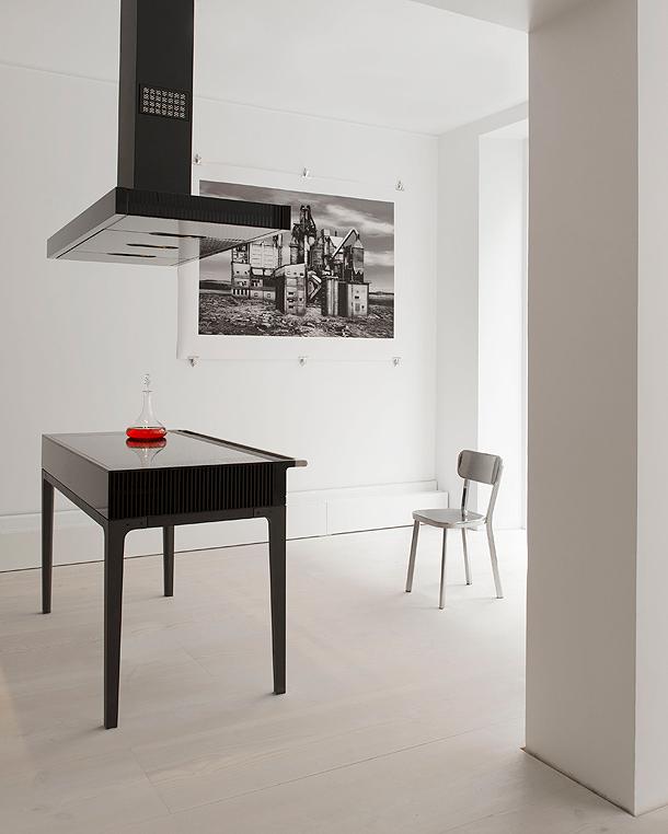 La cocina moderna de Jean-Michel Wilmotte